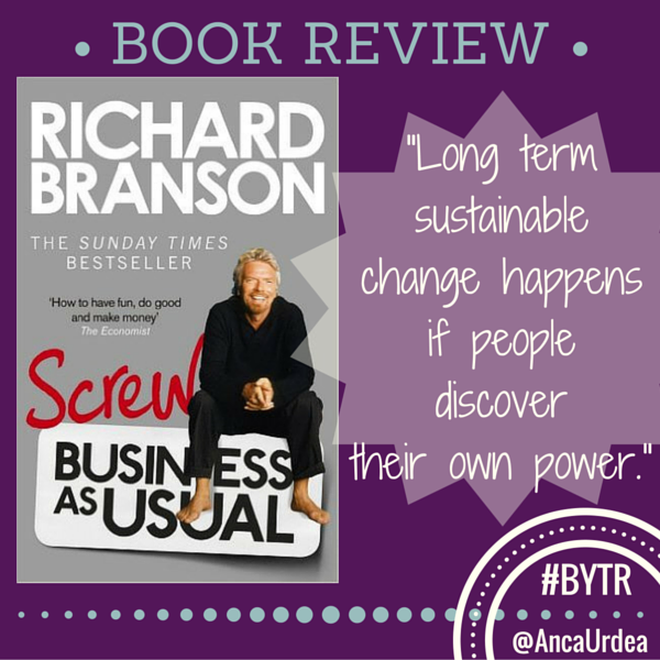 Screw business as usual cover image